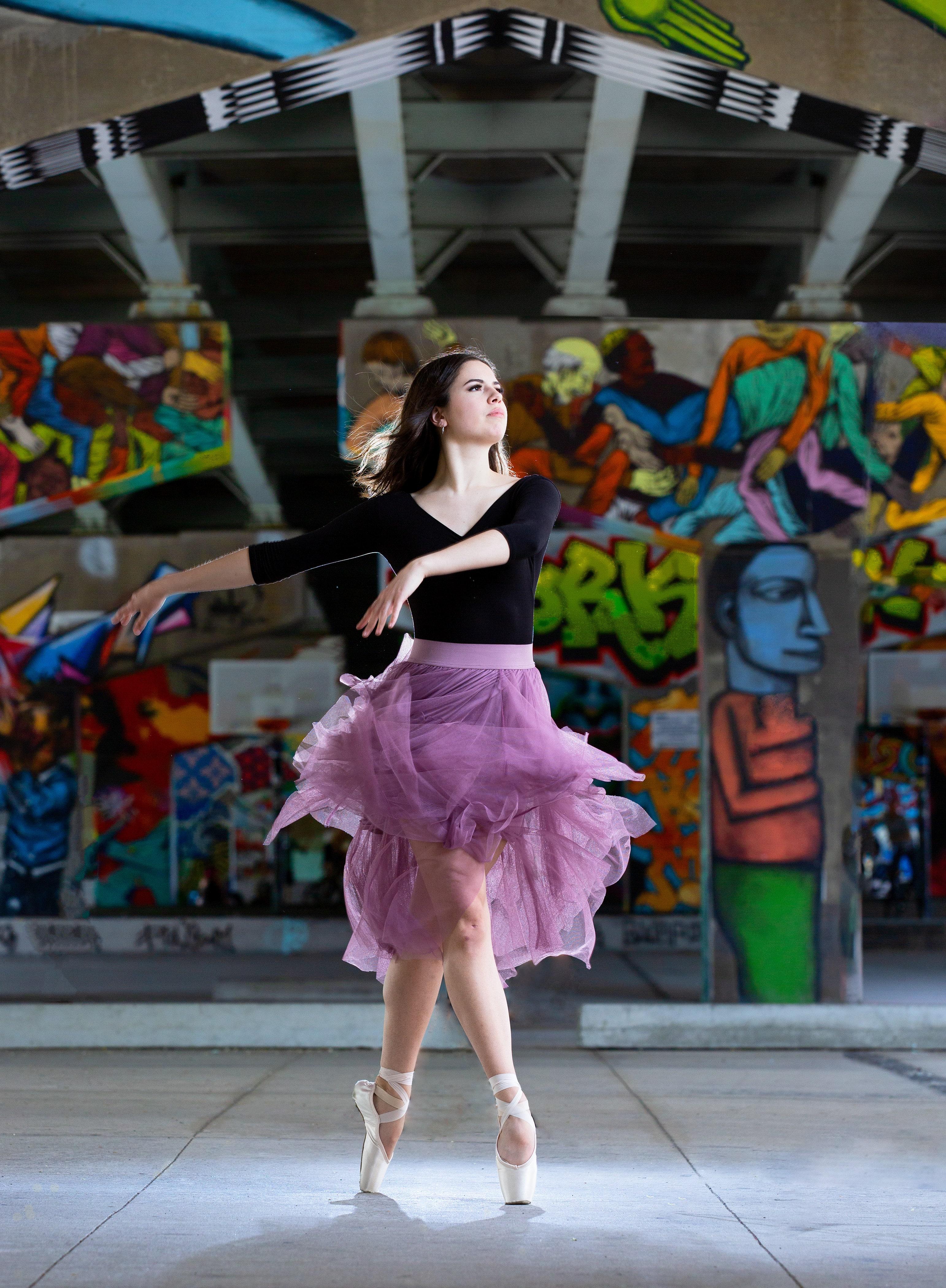 P105 Dance Performance – Class of 2021, Astrud Robichaud, George Brown Dance, Ballet Jörgen